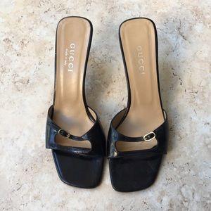 Gucci Kitten Heeled Sandal